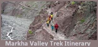 Markha Valley Trek Itinerary - Markha Valley Itinerary