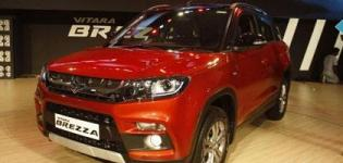 Maruti Suzuki Vitara Brezza Car Launched in India - Price and Specification - Photos