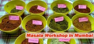 Masala Workshop 2017 in Mumbai at Sangeeta's Cooking Classes