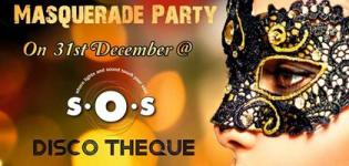 Masquerade Party on 31st December 2015 in Gandhinagar at Balaji Agora Mall