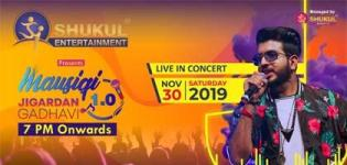 Mausiqi 1.0 - Live In Concert by Jigardan Gadhavi in Surat on 30th November