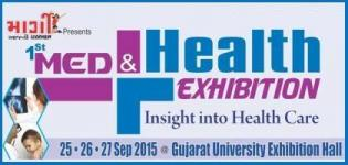 Med & Health Exhibition 2015 at Gujarat University Hall Ahmedabad from 25 to 27 September