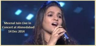 Meenal Jain Live in Concert at Ahmedabad Gujarat on 14 December 2014
