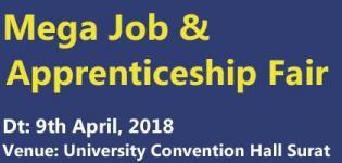 Mega Job & Apprenticeship Fair 2018 in Surat Date and Venue Details