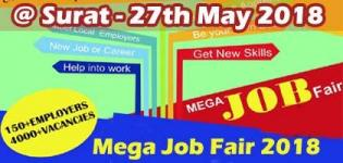 Mega Job Fair 2018 in Surat - Event Date Time and Venue Details