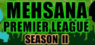 Mehsana Premier League 2018 - MPL Season 2 T20 CUP on 8th April