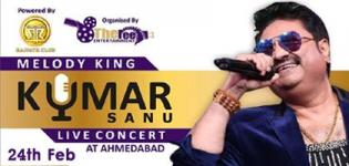 Melody King Kumar Sanu Live Concert in Ahmedabad Date Venue and Time Details
