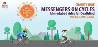 Messengers on Cycles - Charity Ride Arrange by Sense International India for Deafblind