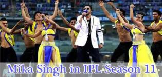 Mika Singh, Great Punjabi Singer Performs Live in Opening Ceremony of IPL 2018