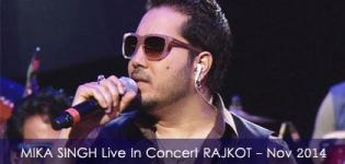 Mika Singh in RAJKOT 2014 - MIKA SINGH Live in Concert at RAJKOT Garden Dinner Club