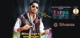 Mika Singh Live In Concert in Silvassa at Tarpa Festival 2014 on 26 December