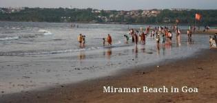 Miramar Beach in North Goa India - Information - Attraction - Details - Photos