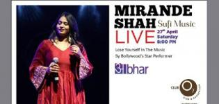 Mirande Shah Sufi Music Live Concert 2019 in Ahmedabad at Club O7