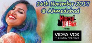 Mirchi Live with Vidya Vox Concert 2017 in November - Venue Details