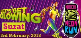 Mirchi Neon Run Surat 2018 in Surat Gujarat - Date and Venue Details
