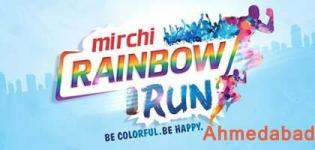Mirchi Rainbow Run 2016 in Ahmedabad at Adani Shantigram Cricket Ground