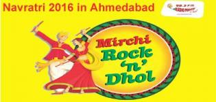 Mirchi Rock n Dhol Navratri 2016 Ahmedabad Presented by Radio Mirchi at Aman Akash Party Plot
