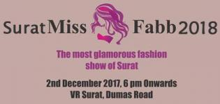 Miss Fabb Surat 2018 The Most Glamorous Fashion Pageant at VR Surat - Dates & Details