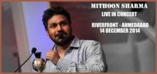 Mithoon Sharma Live in Concert in Ahmedabad on 14 December 2014