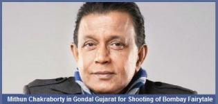 Mithun Chakraborty in Gondal Gujarat for Shooting of Bombay Fairytale Movie
