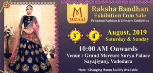 Mizaaj Raksha Bandhan Sale 2019 in Vadodara at Grand Mercure Surya Palace