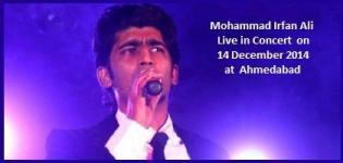 Mohammad Irfan Ali Live in Concert in Ahmedabad Gujarat on 14 December 2014