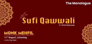 Monk Mehfil - Live Sufi Qawwali ft Street Qawwals 2018 arrange in Ahmedabad