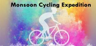 Monsoon Cycling Expedition 2019 Gandhinagar - Date and Venue Details