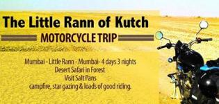 Motorcycle Trip 2016 at Little Rann of Kutch - Date - Venue Details