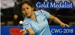 Mouma Das Wins Gold Medal in Commonwealth Games 2018 for Table Tennis