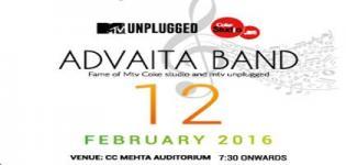 Mtv Coke Studio Advaita Band Live Performance 2016 in Vadodara on 12th February