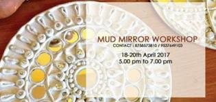 Mud Mirror Workshop 2017 in Ahmedabad at Parag Creation Customized Boutique