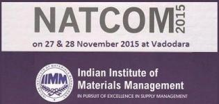NATCOM 2015 Event in Vadodara at Surya Palace on 26th & 28th November 2015 by IIMM