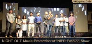 NIGHT OUT Gujarati Film Promotion at INIFD Fashion Show MAY 2015 - Latest Photos