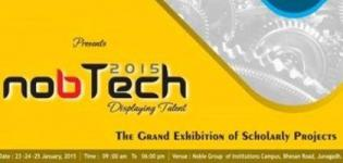 NOBTECH 2015 - Project Exhibition by Noble Group of Institutions Junagadh Gujarat