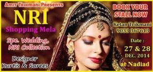 NRI Shopping Mela 2014 Nadiad by Amit Trikmani - Date Location Venue Details