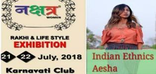 Nakshatra Women Comes with an Indian Ethnics Rakhi and Life Style Exhibition