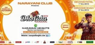 Narayani Club Present Theme Base Garba Ahmedabad - Navratri Dandiya Raas at Narayani Club