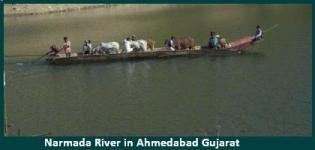 Narmada River in Bharuch Gujarat - History - Information - Details - Images