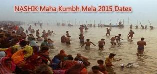 Nashik Maha Kumbh Mela 2015 Dates - Nasik Trimbakeshwar Important Bathing Dates / Days