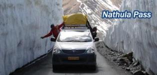 Nathula Pass Gateway to kailash Mansarovar - Nathu La Mountain Pass in Sikkim India