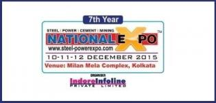 National Expo (Steel & Power) 2015 in Kolkata India - Industrial Expo on Steel and Power