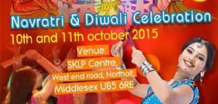 Navratri and Diwali Celebration 2015 in SKLP Center Middlesex UK on 9-10 October
