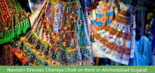 Navratri Dresses Chaniya Choli on Rent in Ahmedabad Gujarat