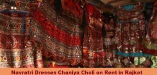 Navratri Dresses Chaniya Choli on Rent in Rajkot Gujarat