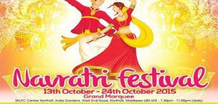 Navratri Festival 2015 at Shree Kutch Leva Patel Community (SKLPC) Center Northolt in Middlesex UK