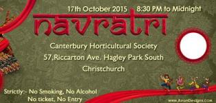 Navratri Garba 2015 at Canterbury Horticultural Society in Addington on 17th October