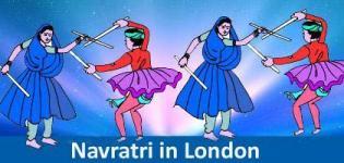 Navratri in London - Navratri Raas Garba Dandiya Festival Celebrations in London