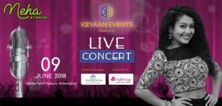 Neha Kakkar Live Concert 2018 in Ahmedabad at Sardar Patel Stadium