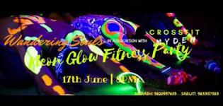 Neon Glow Fitness Party 2017 in Navi Mumbai at Crossfit Myden